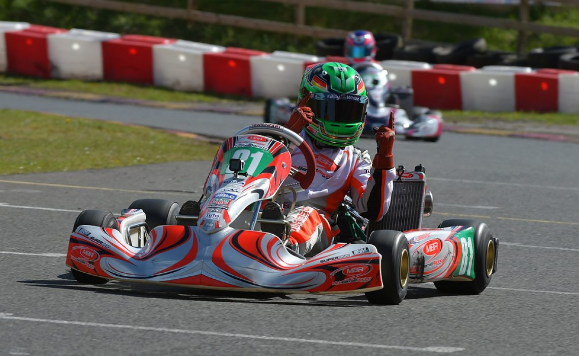 Jonny Wilkinson - Team MBR - Rowrah - #Kartpix - #superoneseries