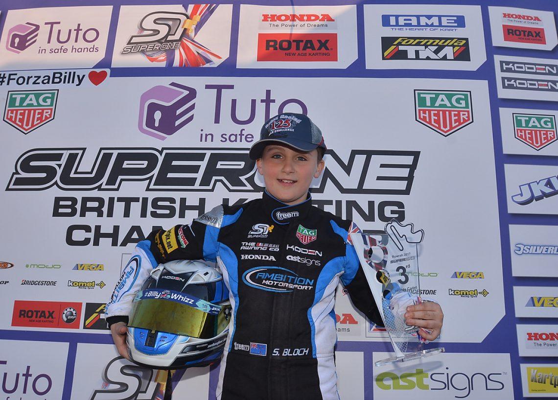 Sebastian Bloch - Ambition Motorsport - Rowrah - #Kartpix - #superoneseries
