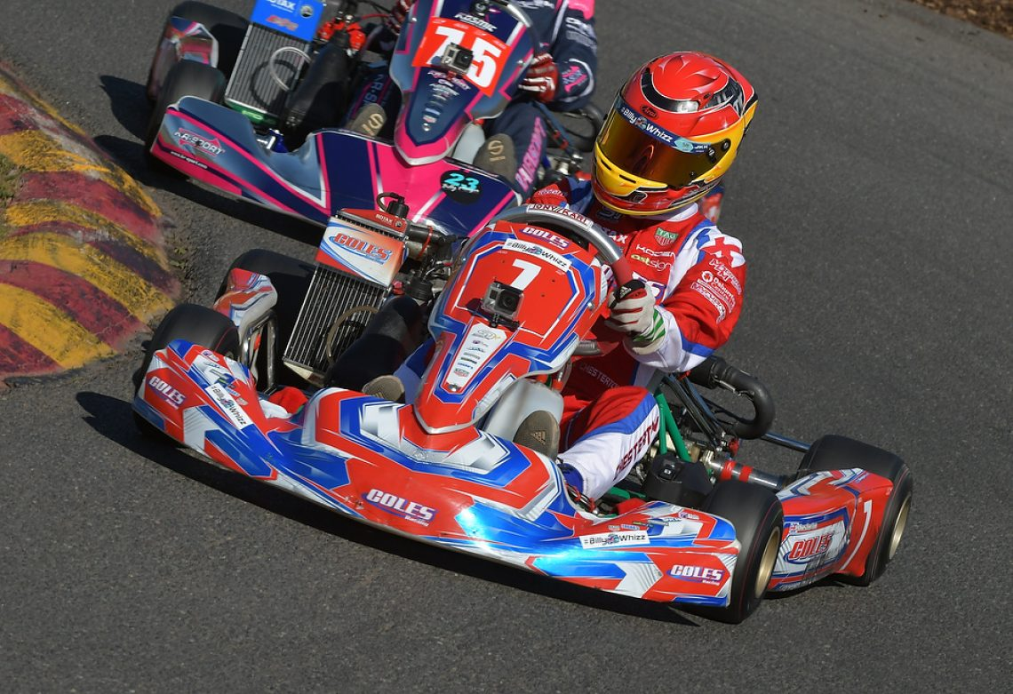 Tyler Chesterton - Coles Racing - Rowrah - #Kartpix - #superoneseries