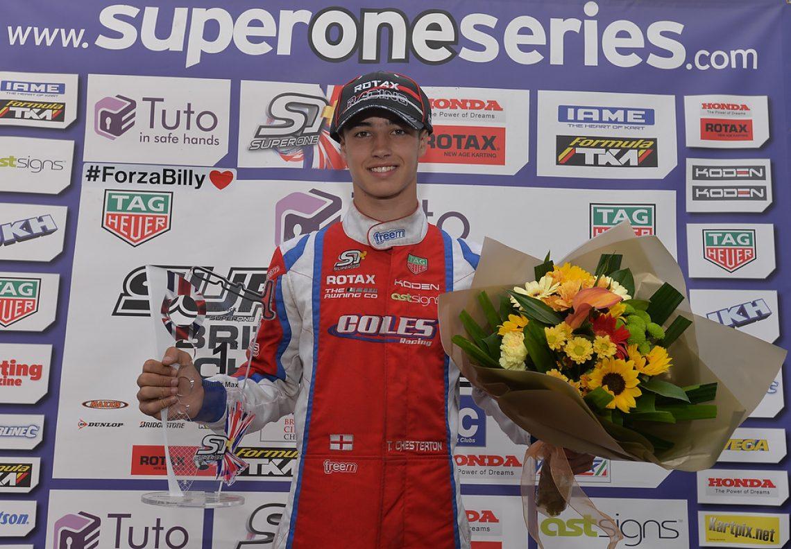 Tyler Chesterton - Coles Racing - Fulbeck - #Kartpix - #superoneseries